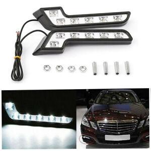 L Shaped 6LED Super White Driving Fog Light Lamp ABS Plastics Waterproof 2Pcs