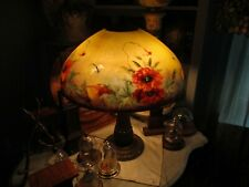 Rare 18 Inch Jefferson Reverse Painted Lamp