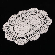 Oval Lace Cup Mat Place Mat Table Doily Table Cover Runner Home Decoration