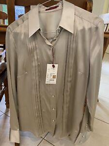 Burberry Silk Shirt Size 40 BNWT