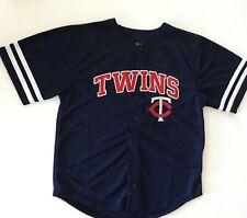 NEW - Kids (M) MLB Minnesota Twins Boys Team Jersey - Youth Size Medium