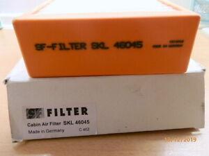 SF Filter Kabinen Air Filter SKL 46045