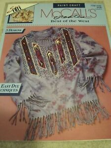 McCALL'S Creates BEST of the WEST Native American Leaflet 14156 6 page 1993
