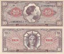 Military Payment Certificate Series 641 $10 Vietnam Era XF/AU