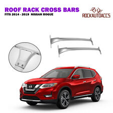 ROKIOTOEX Roof Rack Cross Bar Cargo Carrier For Nissan Rogue 2014-2019 Silver