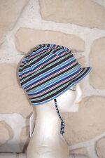 Chapeau neuf ton bleu taille 9 cm marque MaxiMo