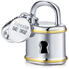 Charms Lucchetto Per Componibile Rosato linea My Secret In Argento Cod. RSE002