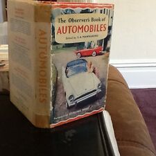 Observers book of automobiles 1960 USA edition $1.25