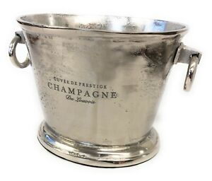 Deluxe Large Champagne Prosecco Antique Vintage Royal Ice Bucket Cooler