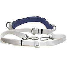 Safety Belt with Adjustable Lanyard Climbing Harness Protective Gear Protection