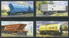 2013. Ukraine. Railroads. Trains. Set. MNH