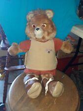 Teddy Ruxpin Vintage 1985 Bear In Original Suit