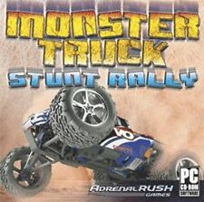 Monster Truck Stunt Rally   experience spectacular stunts   Win 7 8 Vista XP NEW