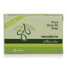 "Pure olive oil soap natural ""Olive-elia"" - Macrovita 100 g / 3.53 oz"