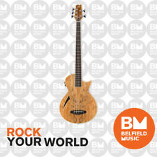 ESP Ltd Tl-5 Thinline Acoustic Electric Bass Guitar 5-string Natural Spalted