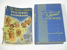 VINTAGE 1947 CULINARY ARTS THE UNITED STATES REGIONAL COOK BOOK RECIPES HC W/ DJ