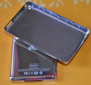 Metal Back Rear Housing Case Cover for iPod Video 30GB Classic 6/7th 80/120/160G