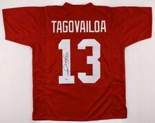 Tua Tagovailoa Signed Alabama Jersey. Beckett COA
