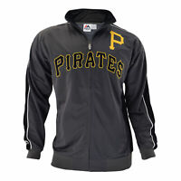 Officially licensed MLB Pittsburgh Pirates Full-Zip Jacket by Majestic Sports