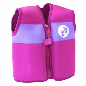 Two Bare Feet Buoyancy Aid Jacket Vest Kids Babies Pink