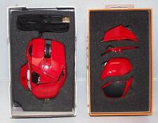 Mad Catz Cyborg RAT R.A.T. 7 Laser Gaming Mouse 6400 dpi for PC Mac RED