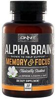 Alpha Brain Memory and Focus 30 Capsules
