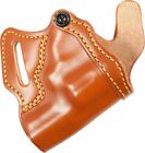 G&G 806-42 Small of Back Holster, Chestnut Brown, Right Hand - 1.88-3in BBl