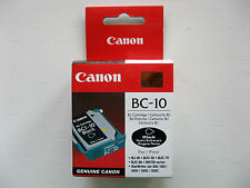 TESTINA CANON BC-10 ORIGINALE / TESTINA CANON BC-10 BLACK BJ-30 BJC-50 70 80 700