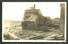 Mobile rppc Steamer Charles E Cessna Alabama 1916 Storm Train Disaster