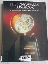 Tony Awards Songbk 56 Songs 1949-2003 Voice Piano Unmarked