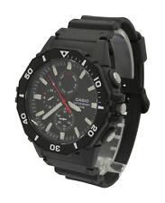 Casio MRW400H-1AV Mens Classic Quartz Analog Black Resin Casual Sports Watch