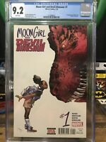 Moon Girl And the Devil Dinosaur 1 Cgc 9.2 First Moon Girl Lunella Lafayette
