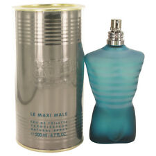 "Jean Paul Gaultier ""Le Male""  Edt Spray For Men 6.7oz/200ml New In Tin Box"