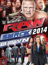 WWE Best of Raw and Smackdown 2014 DVD Lot 3-Disc Set Shield John Cena Authority