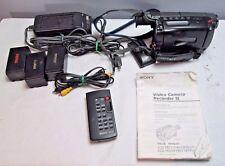 Sony Video 8 Handycam CCD-TRV21 Vintage Video Camera Recorder