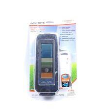 Digital Wireless Indoor Outdoor Thermometer Black AcuRite Temperature Humidity