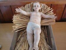 Krippenfigur in Krippe Figur ca. 21 cm Keramik  im sehr guten Zustand.