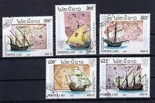 Laos 1992 Satzausgabe MiNr.- 1319-1323  gestempelt