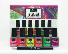 EzFlow Trugel- Design Expert Gel Art Polish Kit- Neon Collection 6 colorsx .25oz