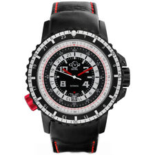 GV2 Gevril Contasecondi 3501 Limited Edition 47mm Black Automatic Men's Watch