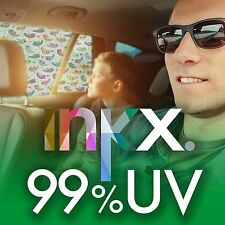 1 x INKX 99% UV SPF 100 PREMIUM CAR SHADE SINGING BIRDS, 66% HEAT REJECTION