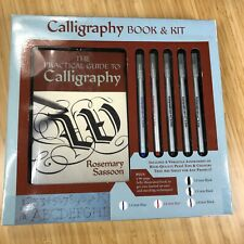 Calligraphy Book and Kit Box Set by Jo Packham and Matt Shay New