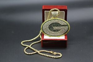 Green Bay Packers glad necklace