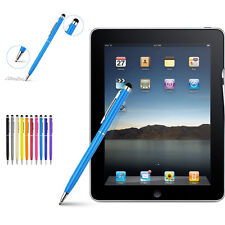 2in1 Mini Metal Capacitive Touch Pen Stylu Screen Ballpoint For ipad Mobilephone