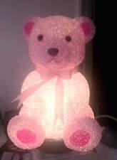 Childrens Bedroom Decor EVA Night Light  Pink Bear HS004