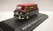 Rare 1/43 Fiat Multipla 600 Van Mokarabia Coffee Eaglemoss Altaya