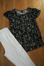 H&M Umstandsshirt Umstandshose 34 36 S Schwangerschaftshose Umstandskleidung