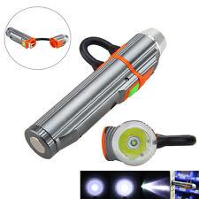 Rechargeable 2000LM USB LED Mini Flashlight Hunting Torch PowerBank Light 18650