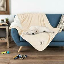 Waterproof Pet Blanket – 60inx50in Soft Plush Throw Protects Couch, Large