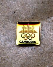 NOC Cambodia 1992 Barcelona OLYMPIC Games Pin